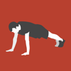 Plank - static interval training exercises & functional workouts