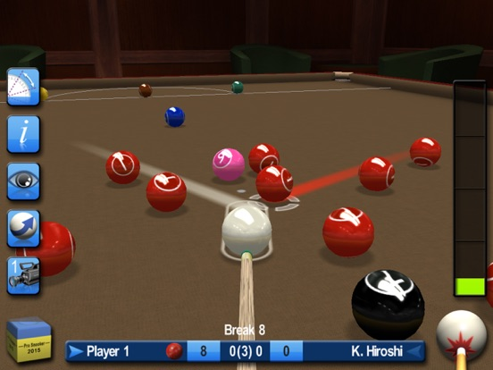 Screenshots of Pro Snooker 2015 for iPad