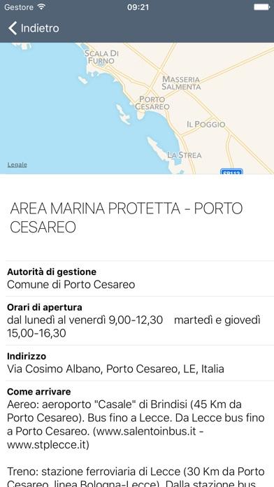 Screenshot of Parchi del Salento4