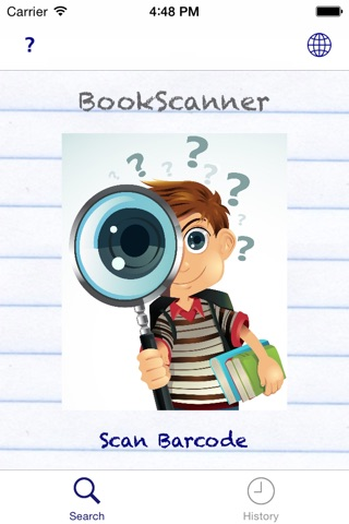 BookScanner App screenshot 1