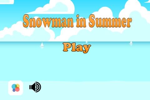 Snowman in Summer - The Jumping Fellow Adventure Game Paid screenshot 3