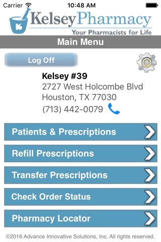 Kelsey Pharmacy screenshot 1