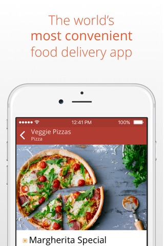 24H - UAE online food delivery screenshot 1