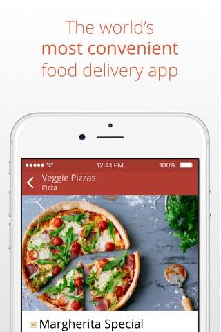 24H - UAE online food delivery screenshot 1