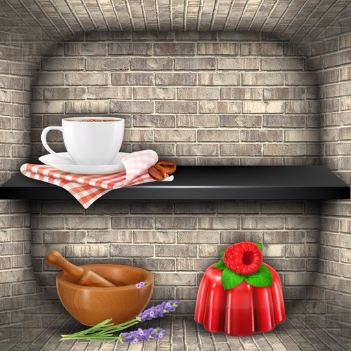 Shelf Wallpaper Maker – Create Custom Background Themes with Free Skins, Shelves and Sticker.s iOS App