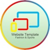 Website Template(Fashion & Sports) With Html Files Pack2 2003 access templates
