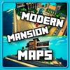Modern Mansion MAPS for MINECRAFT PE ( Pocket Edition ) - Best Map App