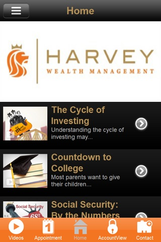 Harvey Wealth screenshot 2