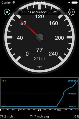 Speedometer Speed Box screenshot 3