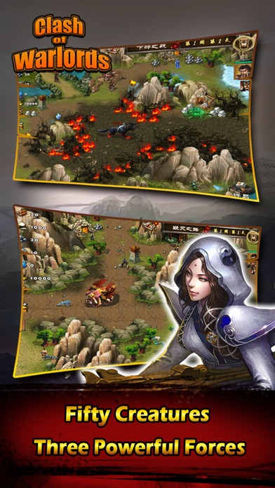 Screenshot #3 pour Clash Warlords