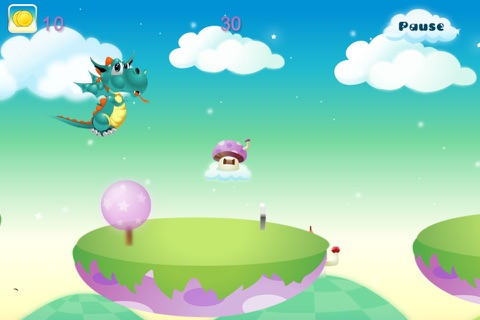 Baby Dragon Run Free screenshot 2