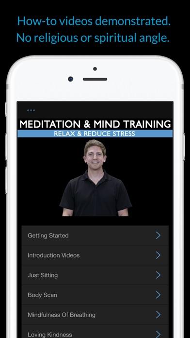 Meditation & Mind Training: Relax & Reduce Stress screenshot two