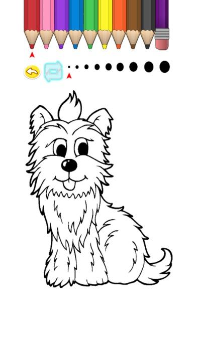 Screenshot of Kids Coloring Book - Cute Cartoon Matake1