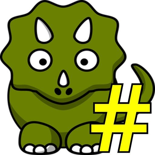Dinosaur Tic-Tac-Toe (2-Player Edition) iOS App