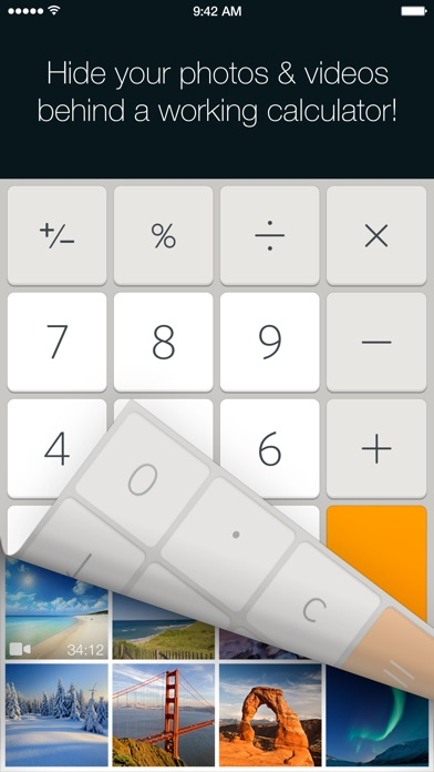 download Calculator+ - Hide photos & videos, protect albums in private folder vault apps 2