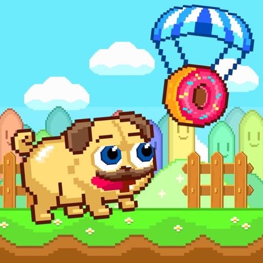 Pugs & Donuts - Crazy Pug Licker & Arcade Shooter FREE iOS App