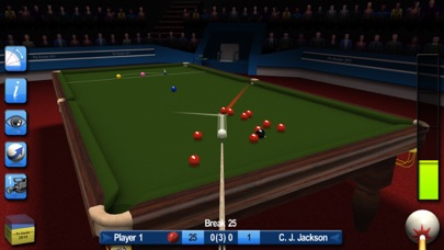 Screenshots of Pro Snooker 2015 for iPhone