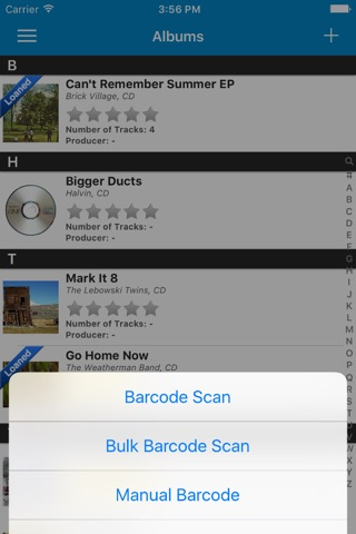 Music Collector Database Pro screenshot 1