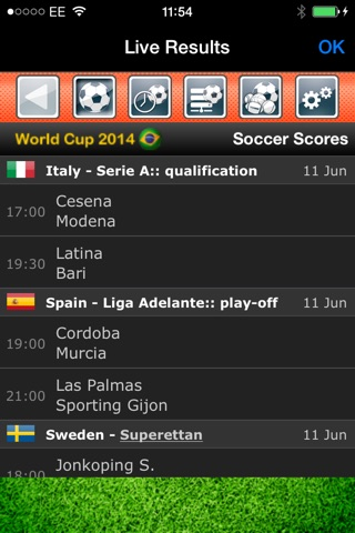 Euro Football: news and results in Europe screenshot 3