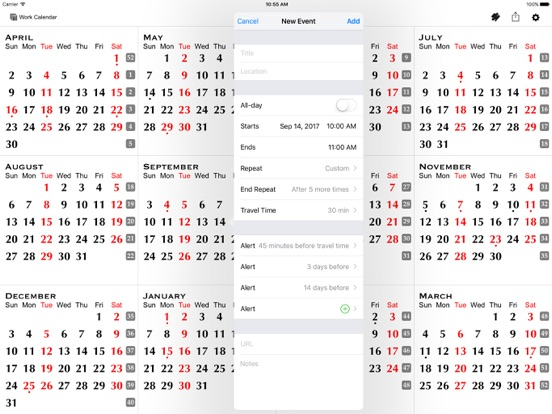 AllInOne Year Calendar  The Customizable Planner On The App Store