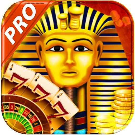 Awesome Casino Slots Pharaoh: Lucky Spin Slots Machines Game HD! iOS App