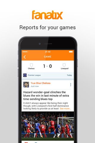 fanatix - Sports Video News screenshot 3