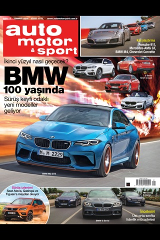 Auto motor & sport magazine screenshot 1