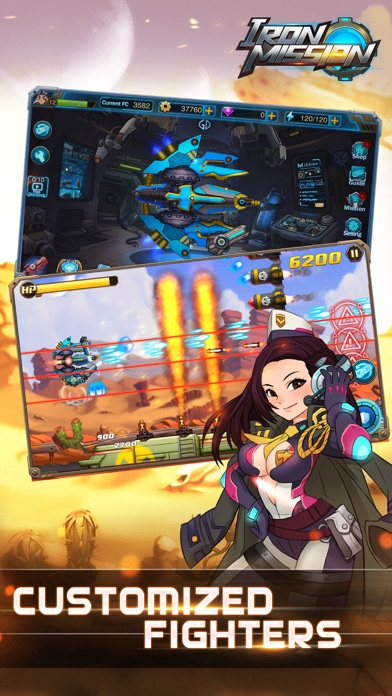 Iron Mission- classic arcade shoot'em up Screenshot
