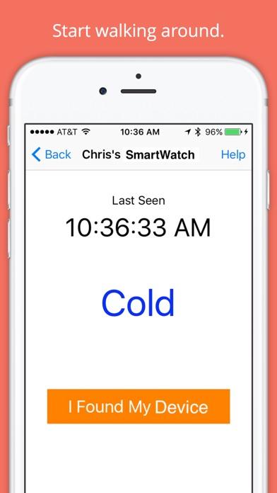 Find My Device - Bluetooth 4.0 Screenshot
