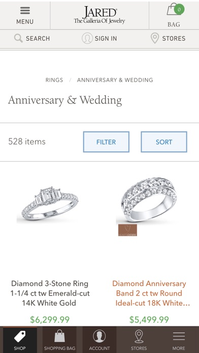 Jared the galleria of jewelry on the app store for Jared jewelry the loop
