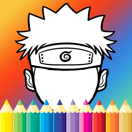 Coloring Paint For Kids Game Naruto Edition iOS App