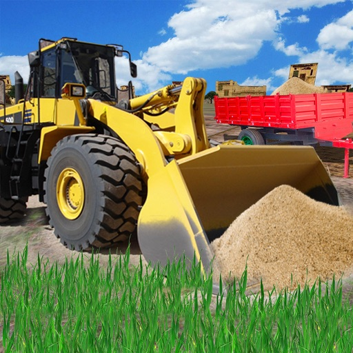 Town Construction Bulldozer - build a city simulation free HD game iOS App