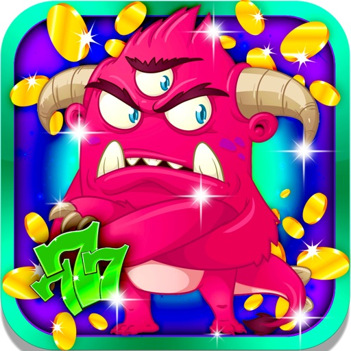 Fierce Creature Slots: Spin the fortunate Monster Wheel and earn double bonuses iOS App