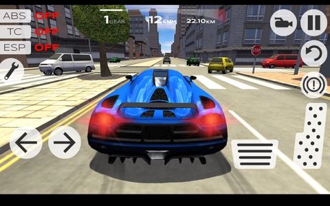 Extreme Car Driving Simulator screenshot 2