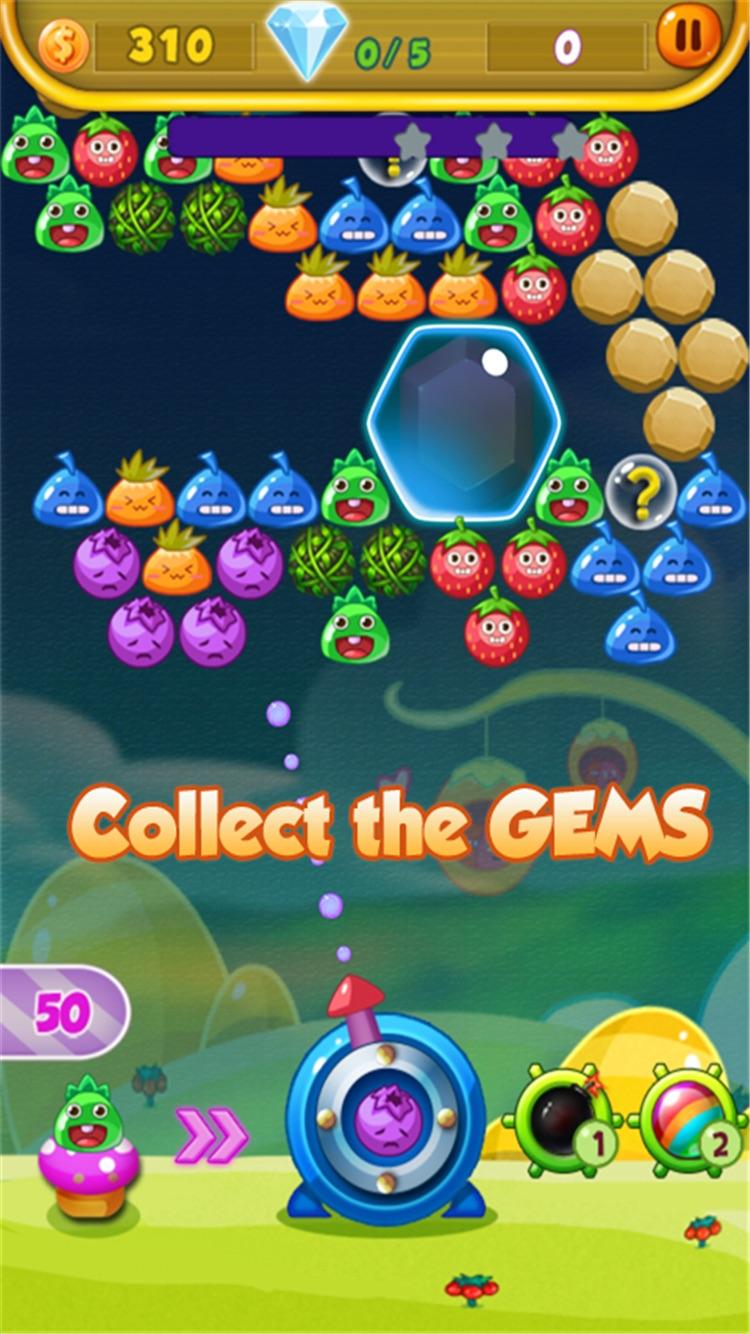 Bubble fruits game - Happy Bubble Fruit Screenshot 4