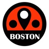 Boston travel guide and Massachusetts mbta metro transit, BeetleTrip США Бостон Путеводитель и Премиум Оффлайн Карта города