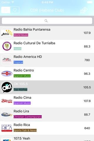 Radio Costa Rica - FM / AM screenshot 1