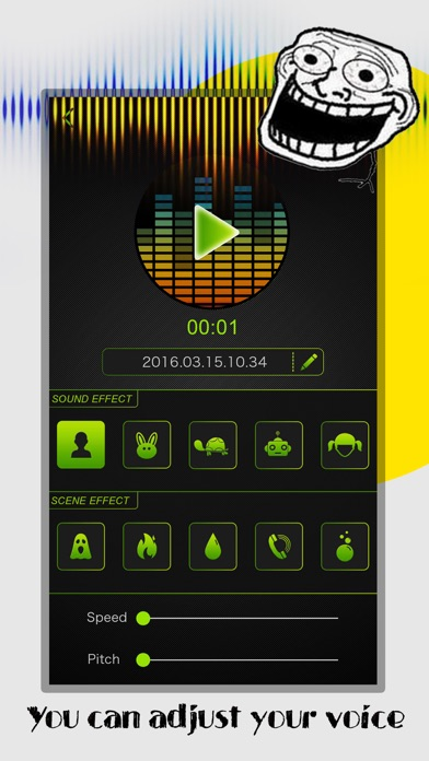 Voice Changer Pro - P... screenshot1