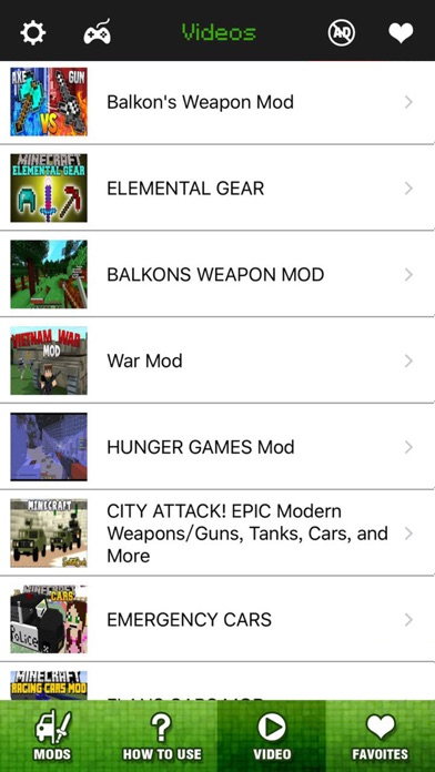Screenshots of Vehicle & Weapon Mods FREE - Best Pocket Wiki & Tools for Minecraft PC Edition for iPhone