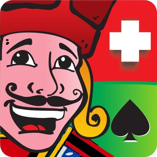 Cyber Jass Schieber iOS App