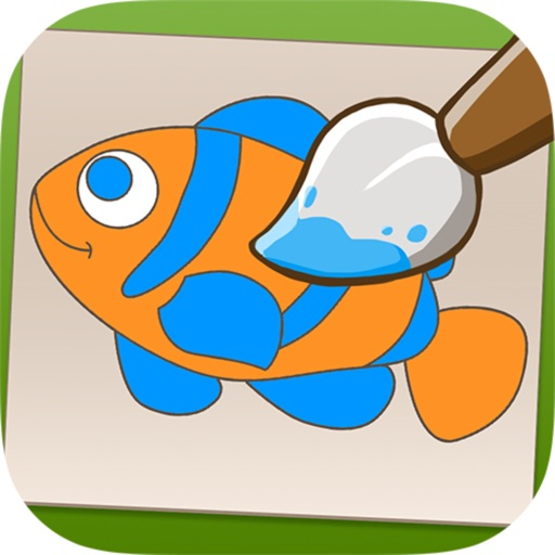 Color Me - World of Animals iOS App