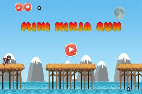 Free Mini Ninja Kids Run screenshot 1