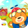 Nano Bear Farm Animals - Great First Sound Game for Babies, Toddlers and Preschoolers