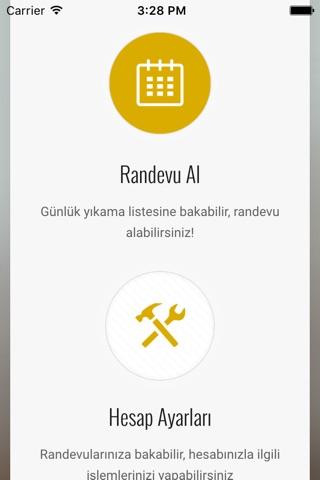 Motocafe Randevu Sistemi screenshot 1