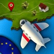 Topo Europa - Snel, leuk en makkelijk topografie leren voor kinderen (landen, hoofdsteden en steden)