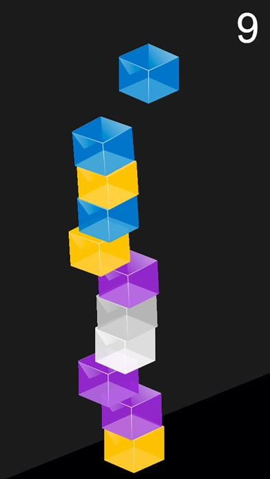 Color Tower - Falling Boxes Screenshot