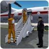 刑務所の囚人飛行機トランスポーター3D - 刑事フライトシミュレーションゲーム
