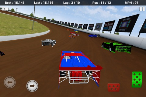 Dirt Racing Mobile 3D Free screenshot 1