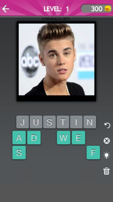 Screenshots of Celebrity Guess (guessing Celebrities quiz games) for iPhone