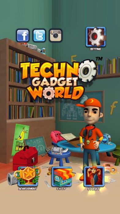 Techno Gadget World Screenshot